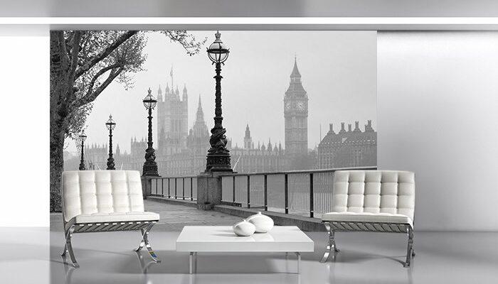 Londyn - Pałac Westministerski - fototapeta