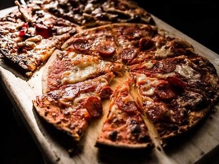 porcja pizza