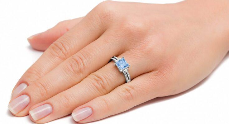 pierścionki srebrne duże